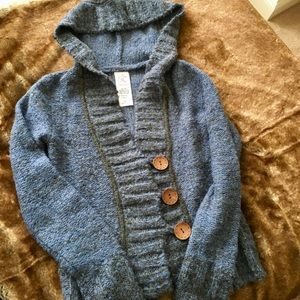 Blue and Gray Sweater. Like New!